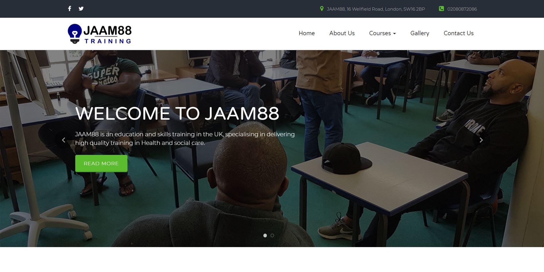 Jaam88 Training