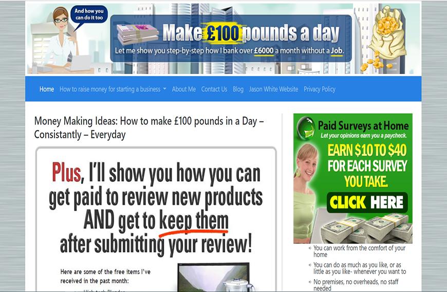 Make 100 Pounds A Day